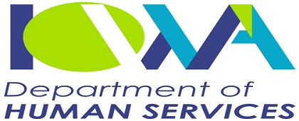 The logo of Iowa Department of Human Services